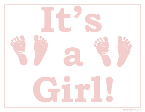 image relating to Girl Printable titled Printable Its a Woman Indicator